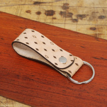 Key Fob With Split Ring Diamonds