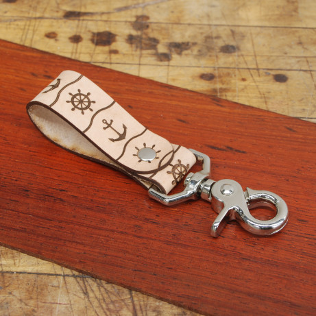 Key Fob With Metal Clip